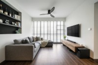 Modern Resale 4-Room HDB by Livspace