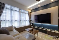 Modern New 3-Room HDB by Starry Homestead Pte Ltd