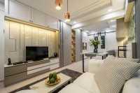 Modern Resale 3-Room HDB by Design 4 Space Pte Ltd