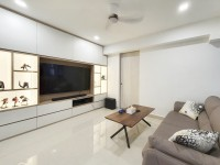 Minimalist Resale 5-Room HDB by Sky Creation