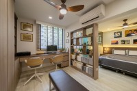 Scandinavian Resale 3-Room HDB by Dots 'N' Tots Interior Pte Ltd