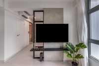 Modern Resale 3-Room HDB by Livspace