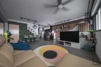 Industrial Resale 4-Room HDB by Space Atelier Pte Ltd
