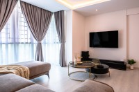 Eclectic Resale 5-Room HDB by Fyner Interior Pte Ltd