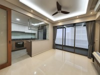 Minimalist New 3-Room HDB by Sky Creation