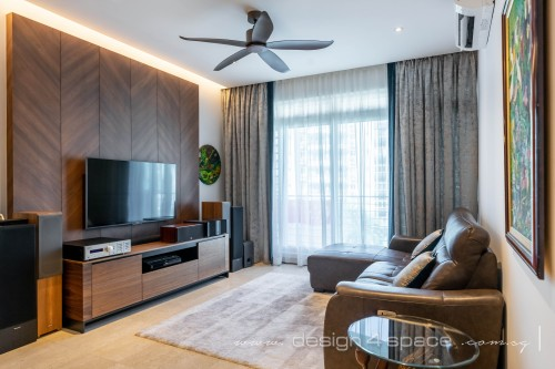 Contemporary Resale Condominium by Design 4 Space Pte Ltd