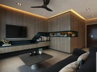 Contemporary New 4-Room HDB by Invicta Interior Pte Ltd