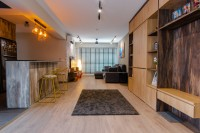 Modern New 5-Room HDB by 9 Creation Pte Ltd