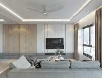 Minimalist New 5-Room HDB by Kontrast Design