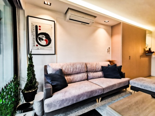 Eclectic Resale 5-Room HDB by Elysian Design & Renovation