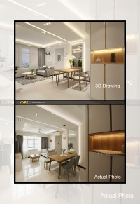 Scandinavian Resale 3-Room HDB by Vivre Creative Design Pte Ltd