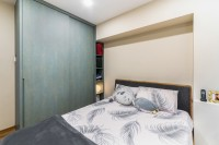 Contemporary Resale 4-Room HDB by Livspace