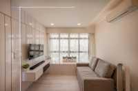 Contemporary New 3-Room HDB by Le Interi Design