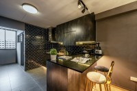 Eclectic Resale 4-Room HDB by Le Interi Design
