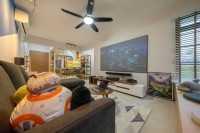 Scandinavian New 4-Room HDB by Design 4 Space Pte Ltd