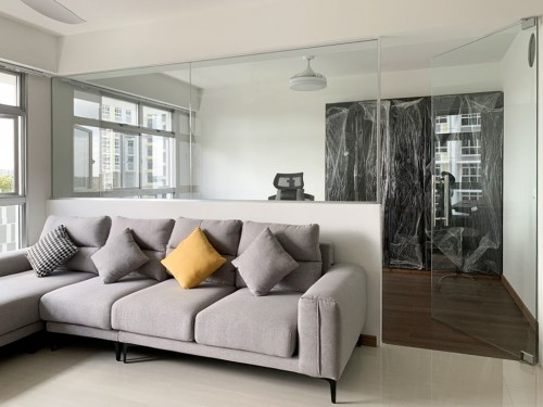 Scandinavian New 5-Room HDB by Sky Creation