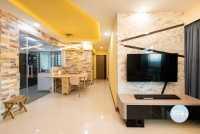 Modern New 5-Room HDB by Ideal Design Interior Pte Ltd