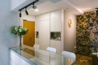 Contemporary New 4-Room HDB by Ideal Design Interior Pte Ltd