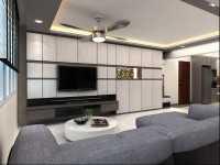 Minimalist New 5-Room HDB by Ideal Design Interior Pte Ltd