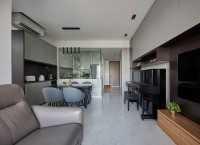 Contemporary New Condominium by The Interior Lab Pte Ltd