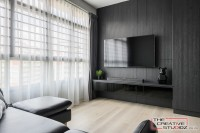 Scandinavian New 4-Room HDB by The Creative Studioz