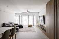 Minimalist Resale 5-Room HDB by Fyner Interior Pte Ltd