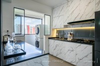 Contemporary New 4-Room HDB by Design 4 Space Pte Ltd