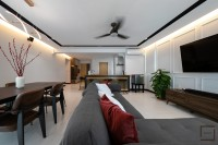 Contemporary Resale 4-Room HDB by Space Atelier Pte Ltd