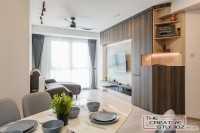 Scandinavian Resale Condominium by The Creative Studioz