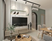 Modern New Condominium by Mr Designer Studio