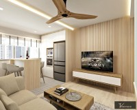 Scandinavian Resale Condominium by V Creative ID
