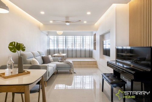 Scandinavian Resale 5-Room HDB by Starry Homestead Pte Ltd