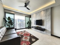 Contemporary Resale Condominium by Sky Creation