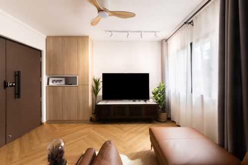 Scandinavian Resale 4-Room HDB by Livspace