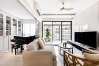 Minimalist New Condominium by U-Home Interior Design Pte Ltd