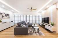 Scandinavian Resale 5-Room HDB by U-Home Interior Design Pte Ltd