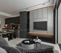 Contemporary New Condominium by Mr Designer Studio