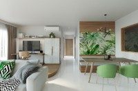Contemporary Resale 5-Room HDB by Kontrast Design