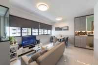 Modern Resale 4-Room HDB by Livspace