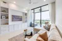 Minimalist Resale Condominium by Livspace