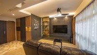Vintage New 4-Room HDB by Livspace
