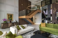 Contemporary Resale Condominium by Livspace