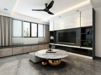 Contemporary Resale Executive HDB by 13 Degree Design Studio Pte Ltd
