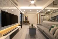 Scandinavian New Condominium by Space Atelier Pte Ltd