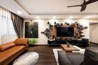 Contemporary Resale Executive HDB by U-Home Interior Design Pte Ltd