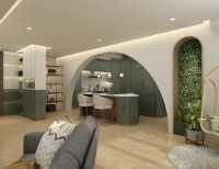 Contemporary New 4-Room HDB by Elysian Design Studio
