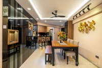 Contemporary Resale 5-Room HDB by Design 4 Space Pte Ltd