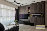 Industrial New 4-Room HDB by Ideology Interior