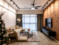 Industrial Resale 4-Room HDB by Ideology Interior