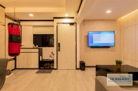 Contemporary Resale 3-Room HDB by Ideology Interior